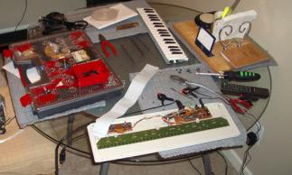 My MIDI pedalboard project