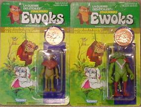 STAR WARS EWOKS (Kenner) 1985 Ewoks2