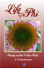 image - book cover - LIfe of Phi - Beauty and the Golden Ratio