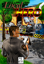image - Featured  Book -  Local Hero 1 and 2 Comic Books