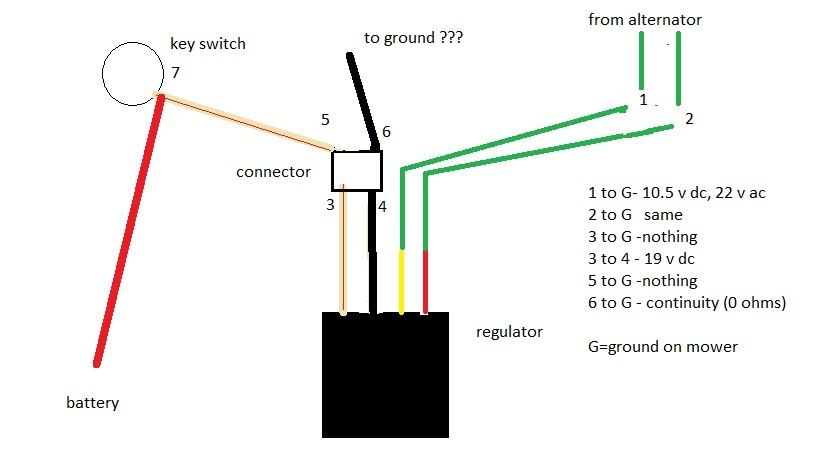 solved i need to know what the 6 wires from kubota fixya rh fixya com Kubota Generator Wiring Diagram Kubota Ignition Switch Wiring Diagram