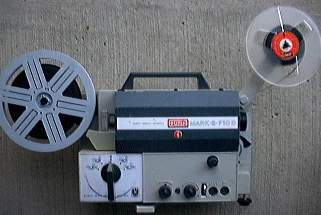 Eumig mark s-710d super 8 & std 8mm sound cine film projector.