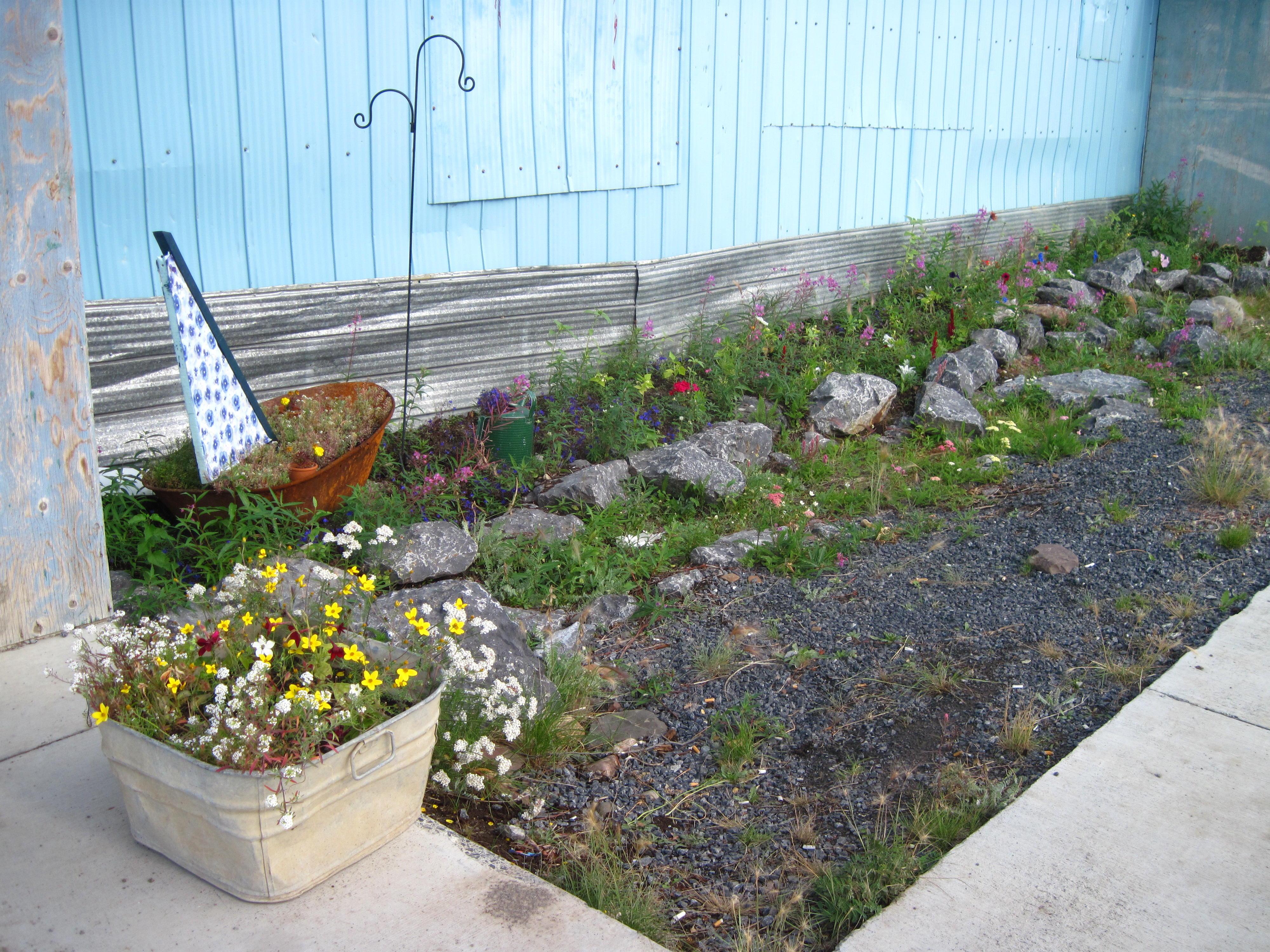 9 Outside Inuvik Community Greenhouse
