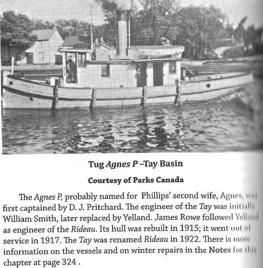 Tug Boat Agnes-P in the Tay Basin