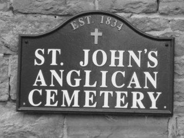 St. John's Anglican Church, Richmond, Ontario, est. 1834