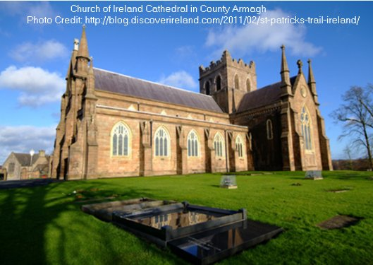 Church of Ireland Cathedral in County Armagh, Ireland