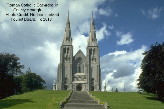 Roman Catholic Cathedral in County Armagh, Ireland