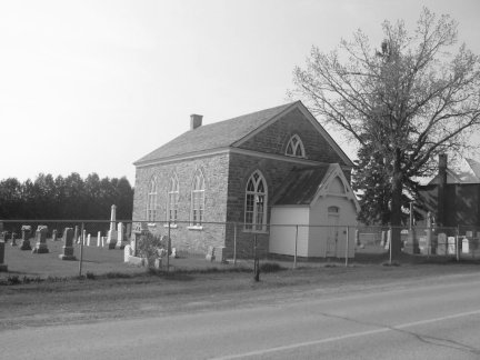 Ashton, Ontario, Anglican Church and Cemetery