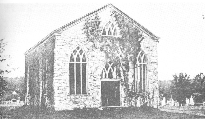 Auld Kirk at Almonte, Ontario, Canada, in 1905