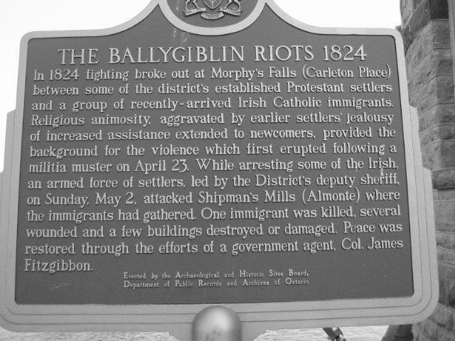 Ballyghiblin Riots, 1824