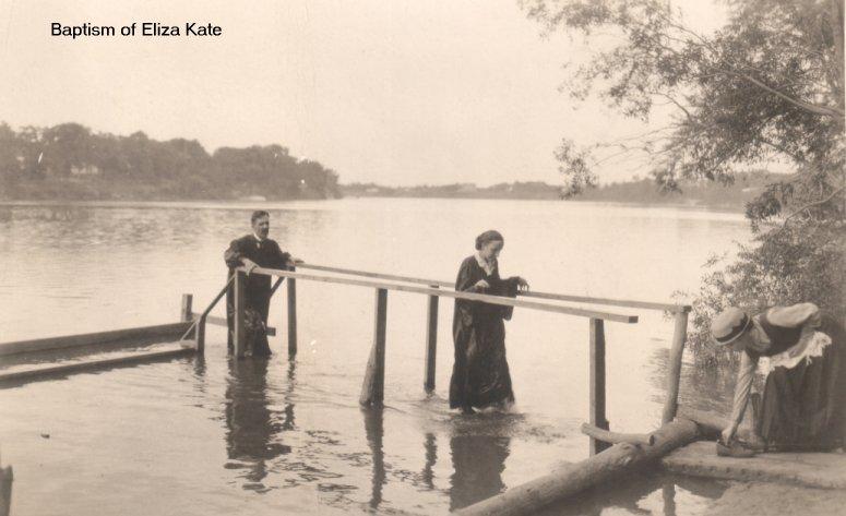 Adult Baptism of Eliza Kate
