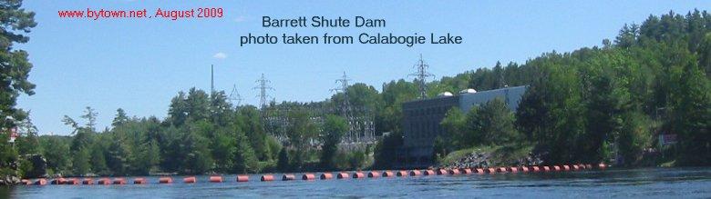Barrett Chute Map - Madawaska River, Ontario, Canada