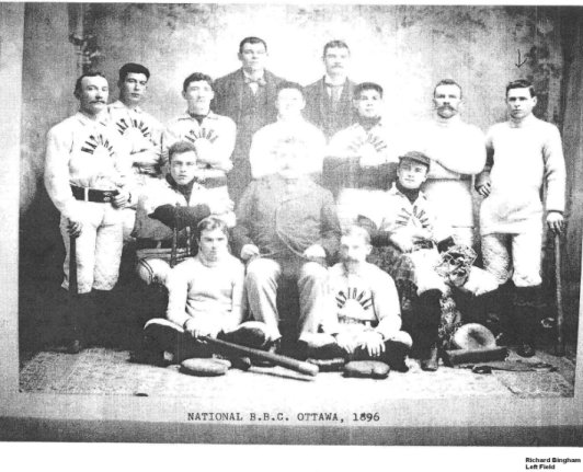 1896 Ottawa National Baseball Team