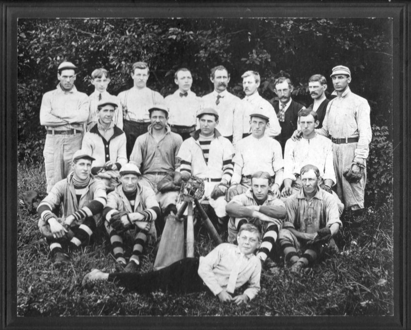 1910 Baseball Team - Ottawa East