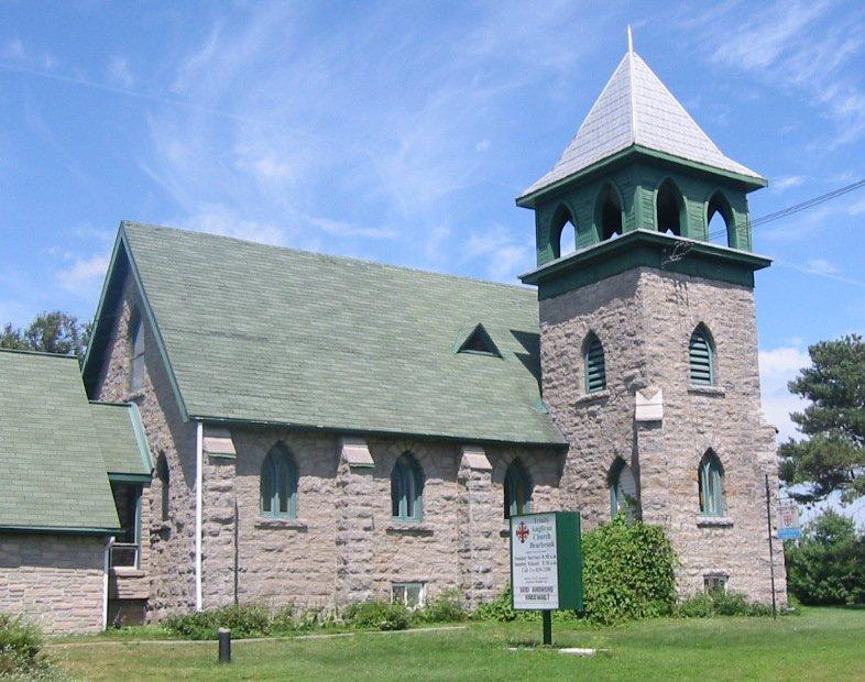Trinity Anglican Church at Bear Brook, Ontario