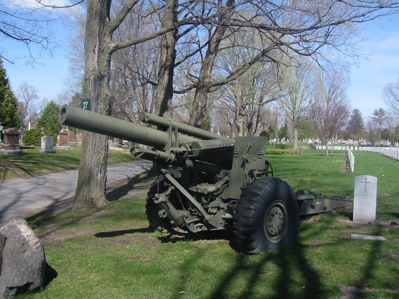 Howitzer at Beechwood Cemetery, Ottawa, Ontario, Canada