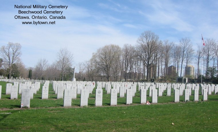 Beechwood Military Cemetery, Ottawa, Canada