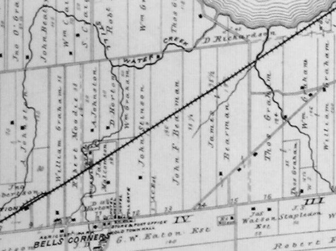 Bell's Corners Farms, Ottawa, Ontario, Canada, in 1879