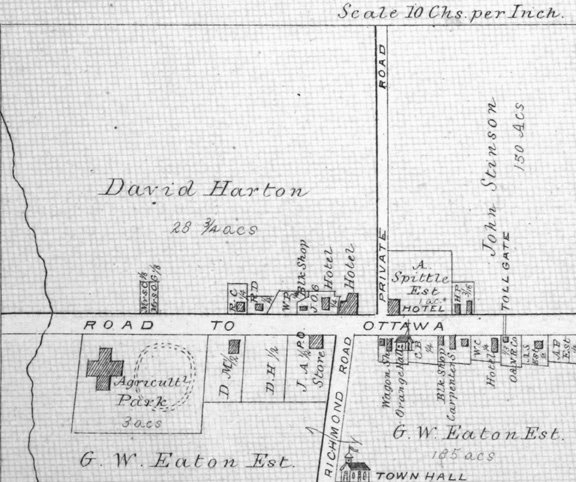 Bell's Corners in 1879