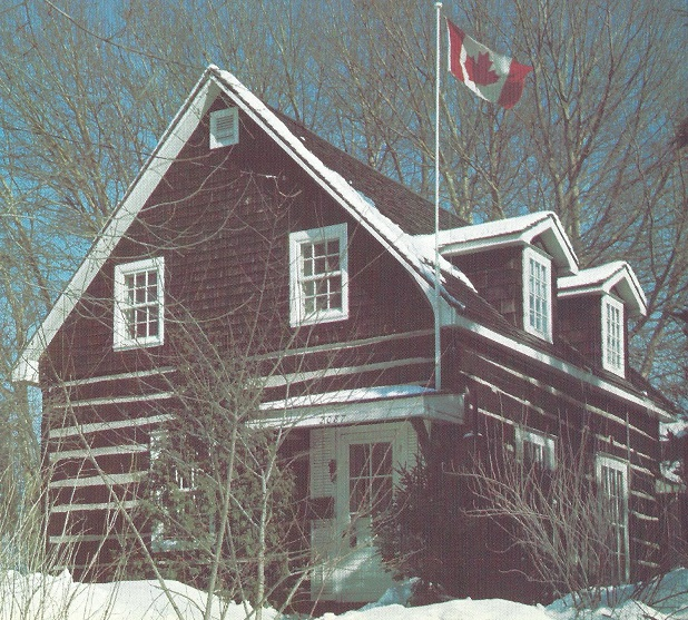 School House Built by Bradish Billings