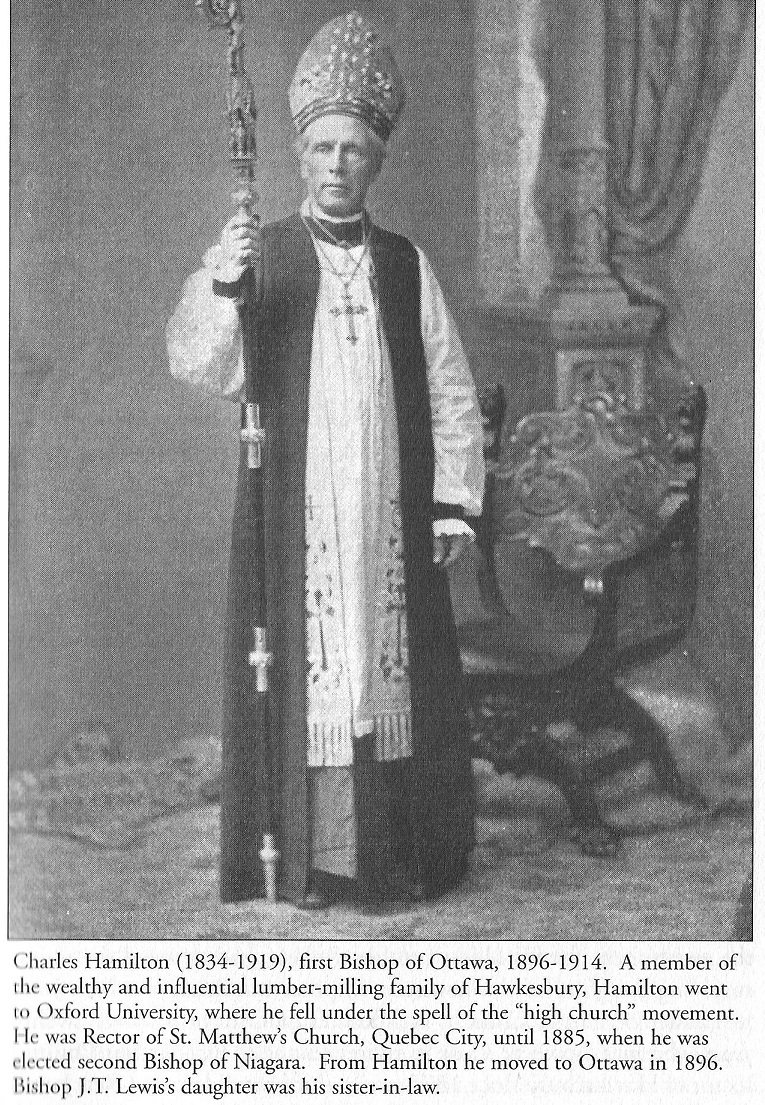Charles Hamilton, First Anglican Bishop of Ottawa, Canada