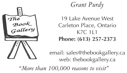 The Book Gallery, Carleton Place, Ontario, Canada