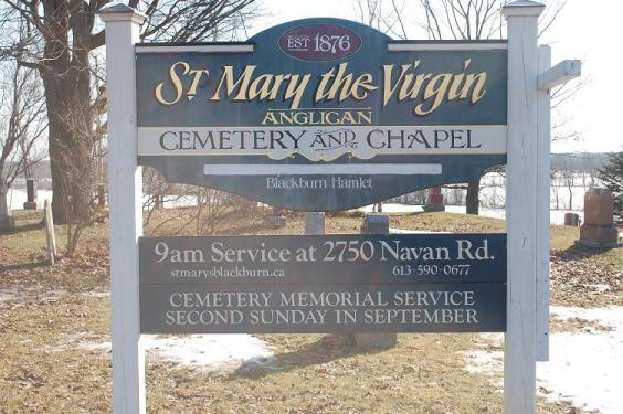 St. Mary the Virgin Anglican Church, Gloucester Township