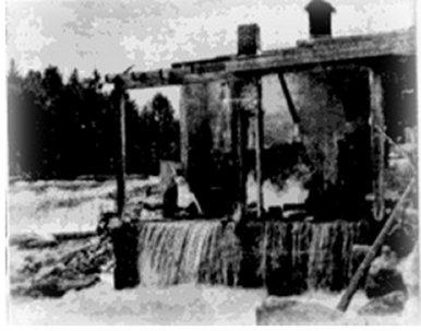Dam at Black Donald Mine generates hydro power