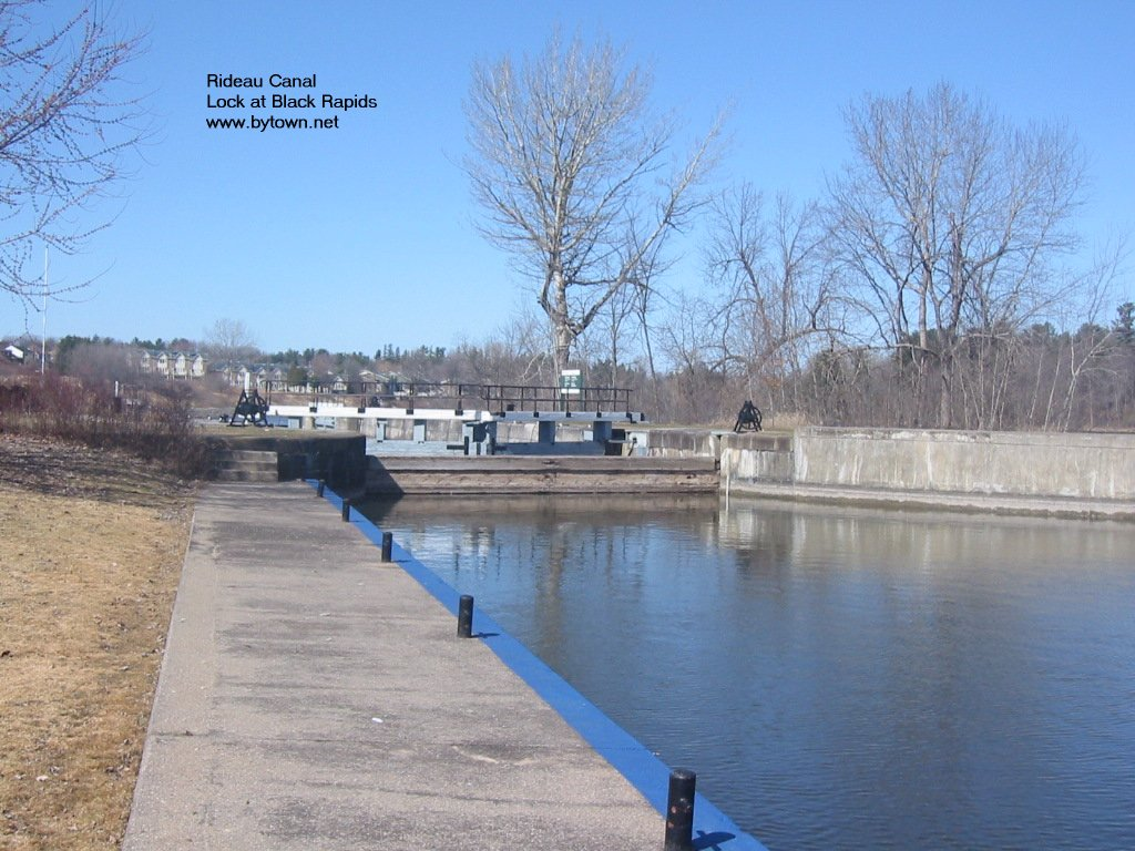 Black Rapids Locks, Rideau River, Ottawa, Canada