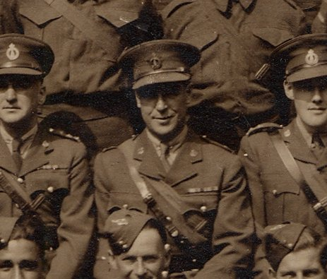 Major Robert Bonnar, Canadian Forestry Corps in World War 2