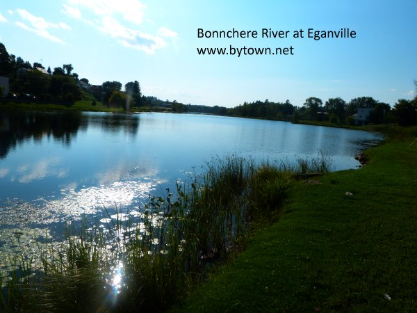View of the Bonnchere River at Eganville