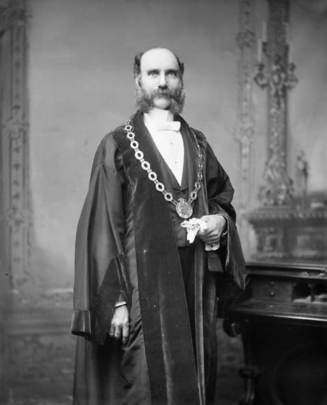 Picture of William Borthwick, Mayor of Ottawa, Ontario, Canada