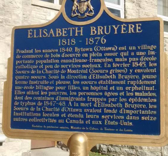 Sister Elizabeth Bruyere,Ottawa (2)