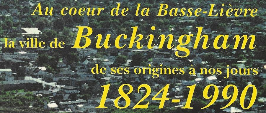 Buckingham Quebec, Historical Book