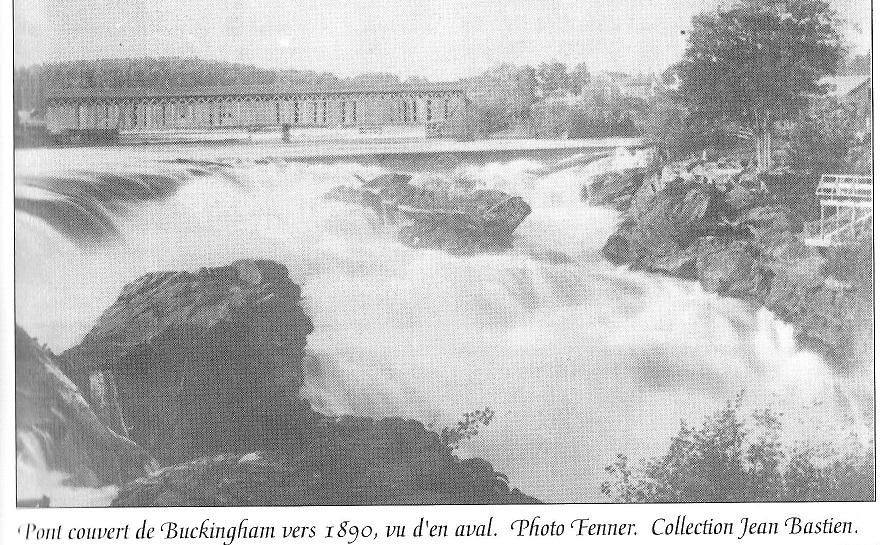 Covered Bridge at Buckingham, Quebec, Canada, c. 1890
