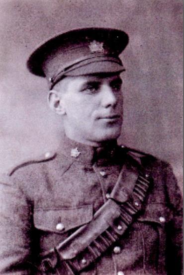 Martin Lewis Burns, WW1 photo