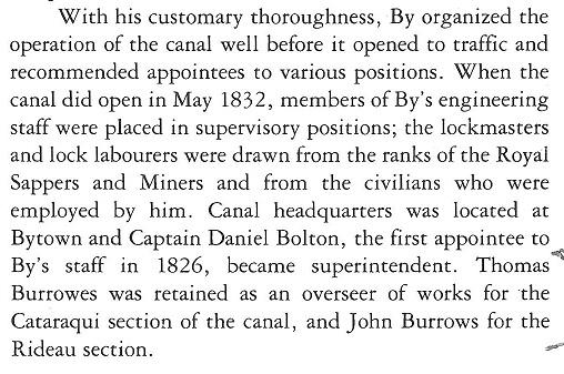 Thomas Burrowes and John Burrows