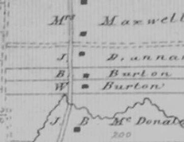 2 Burton farms near Cornwall, Ontario, Canada in 1879