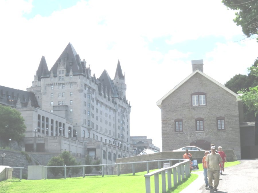 The Bytown Museum and the Chateau Laurier Hotel, 2014