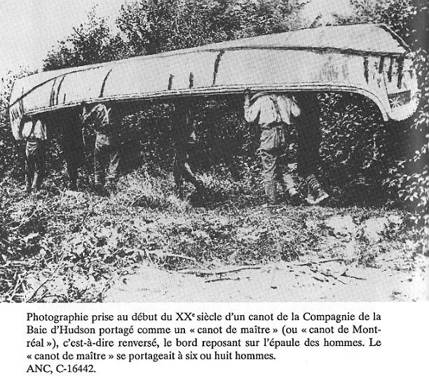Canot de Maitre - birch bark belonged to the HBC