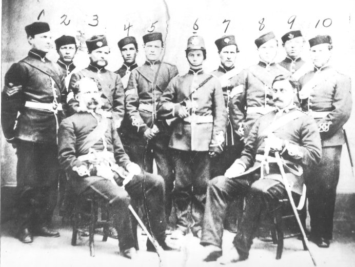 Bell's Corners Rifles, Carleton Blazers at time of the Fenian Raids