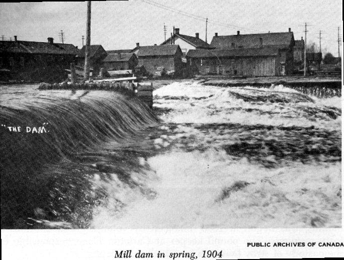 Carleton Place Dam, 1904