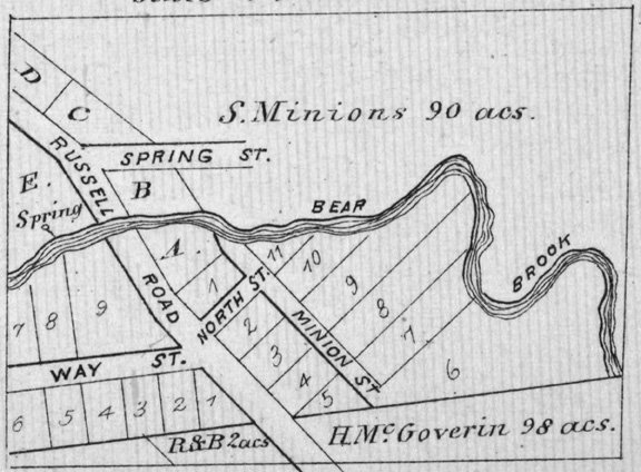 Cathartic Village in 1879