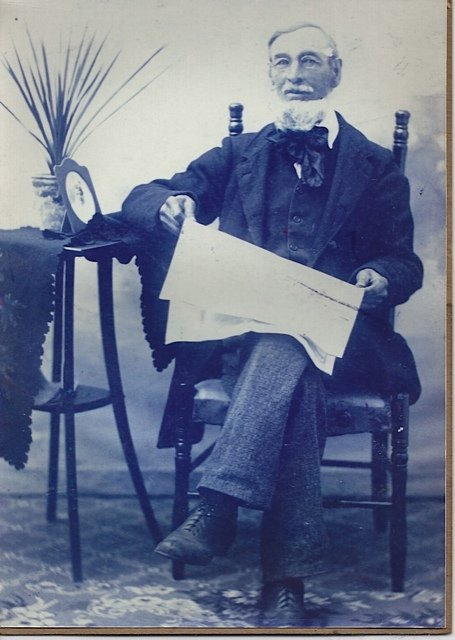 Walter Cavanagh in 1865, photo taken in Carleton Place, Ontario, Canada