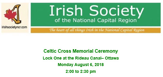 Celtic Cross Memorial Gathering, 2018