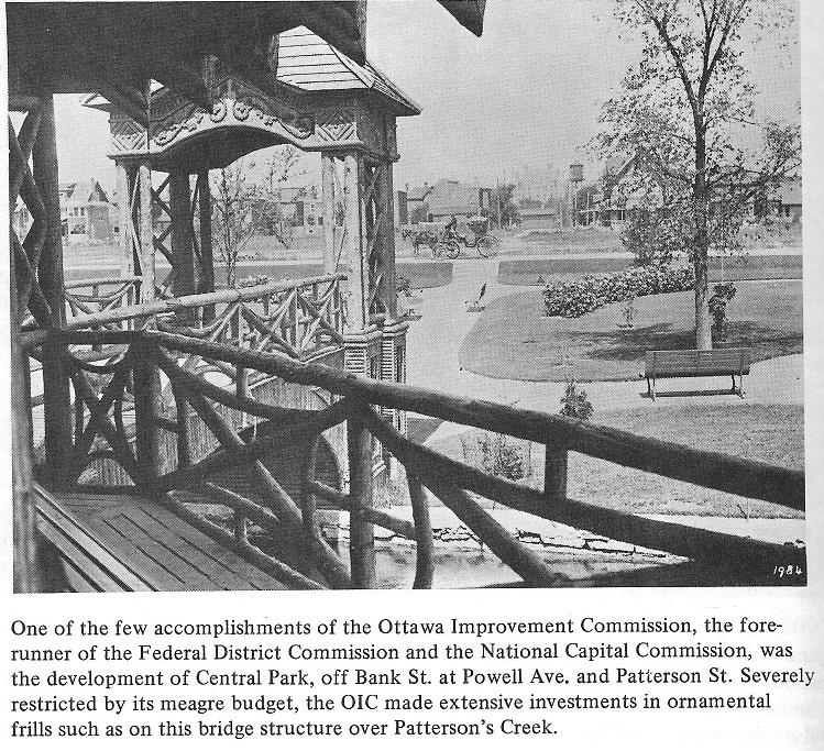 Central Park in Ottawa