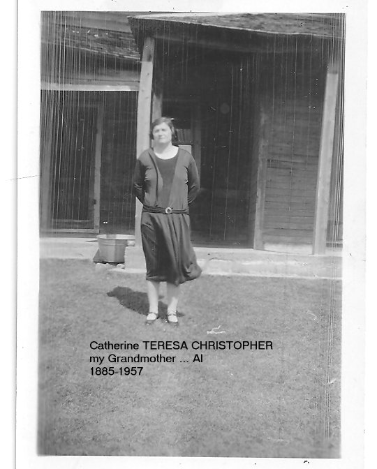 Picture of Catherine TERESA BURNS nee CHRISTOPHER, c. 1927