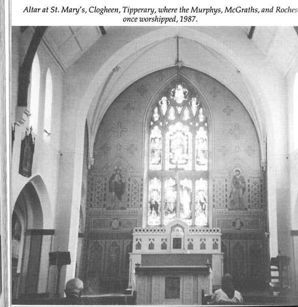 Interior of St. Mary's Church, Clogheen, County Tipperary