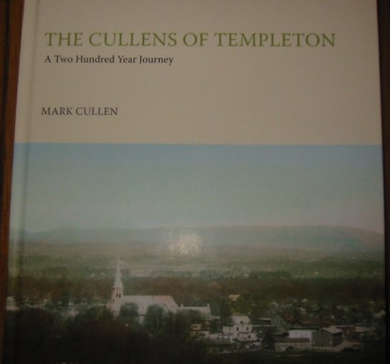 Book: The Cullens of Templeton (Gatineau Valley, Quebec)