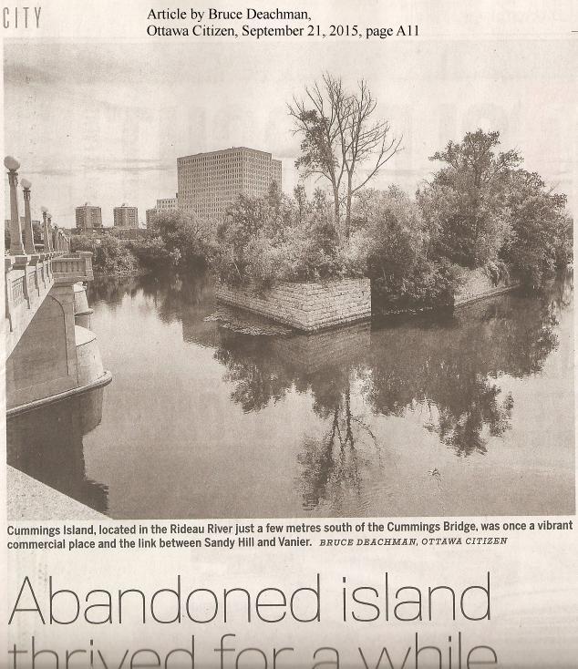 Cummings Island, Ottawa, Ontario, Canada